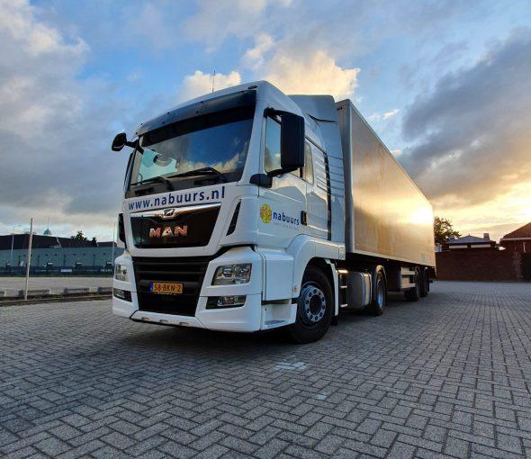 Op de weg met Nabuurs supply chain solutions